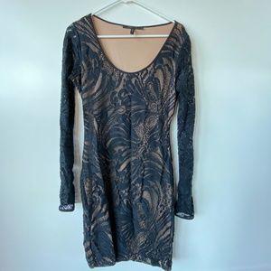 Black Lace Dress by BCBG